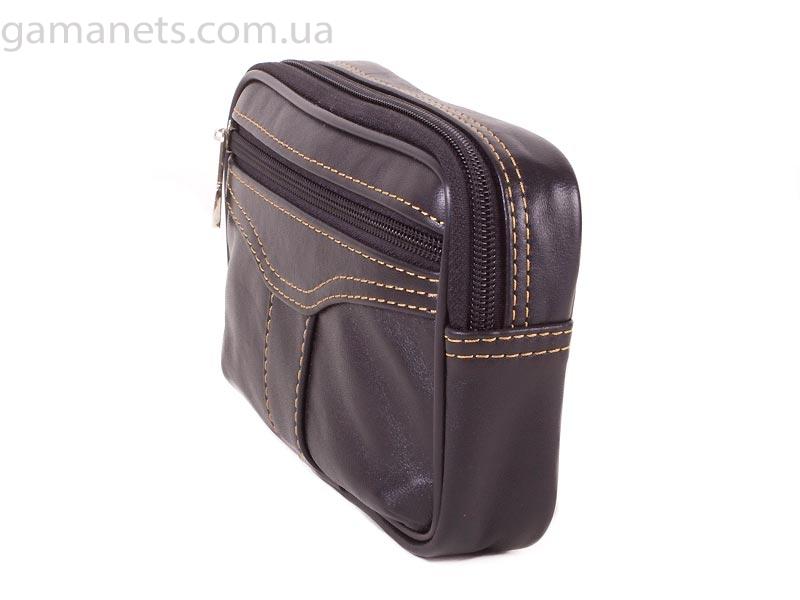 Кожаная мужская поясная сумка PEKOTOF (ПЕКОТОФ)(Pek12-12-02) Материал: натуральная кожа Размеры: 16х.