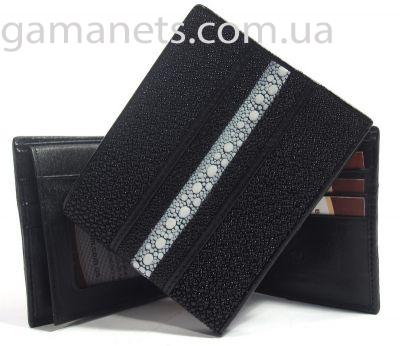 Бумажник мужской из кожи ската WOT-005 - Сумки - купить сумку, кошельки...