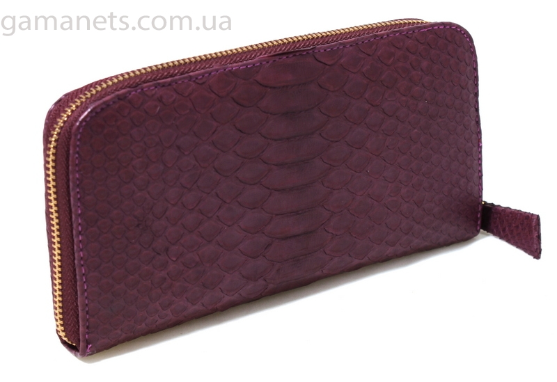 49a48b7a8b15 Кошелек из кожи питона (NPT-104 Marsala) купить сумки в Киеве, Украине